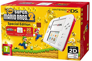 Pack 2DS más New Super Mario Bros 2